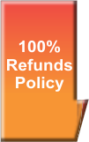 100% Refunds Policy